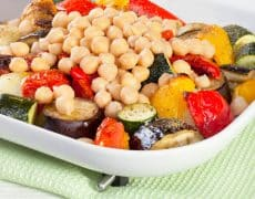 Chickpea and Roasted Vegetable Salad | Kasia Kines - Functional Nutritionist