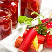 Strawberry Rhubarb Sauce | Kasia Kines - Functional Nutrition
