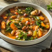 Greek Fasoulada Bean Soup